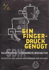 HORNBERG, Werbung 1940, Schiele Industriewerke SBIK Stern-Dreieck-Fernwart Schal