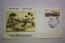 INDIA 2002. 150 Years of Indian Railways FDC. with BROCHURE
