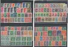 127 x Briefmarken Sammlung Deutsches Reich postfrisch Posthorn Korbdeckel Taube