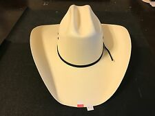 "BUSINESS LIQUIDATION: Texas Hat Co 10X Tan ""All Around"" Straw Cowboy Hat 7 1/4"
