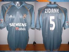 Real Madrid ZIDANE Adidas Adult L France Shirt Jersey Football Soccer 2003 Top