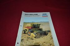 New Holland TR86 TR96 Twin Rotor Rice Soybean Combine Dealer's Brochure DCPA2