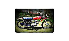 1976 Honda Xr75 Bike Motorcycle A4 Photo Poster