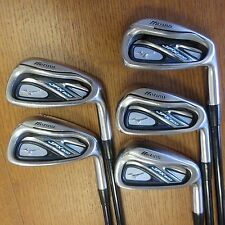 Used Mizuno JPX800 6-PW Iron Set Golf Club MI-100 Graphite Regular Flex