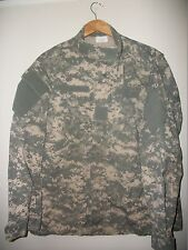 military BDU Shirt/Coat large regular combat digital Camo 50% cotton 50% nylon