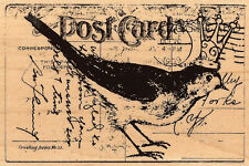 Bird Post, Wood Mounted Rubber Stamp STAMPENDOUS, NEW - P135