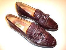 Mezlan Murcia Lizard Tassel Loafer Shoes ~ Men's Sz 10 Medium