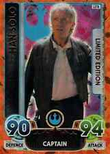STAR WARS FORCE ATTAX extra the force awakens limited edition LE-TB Han Solo