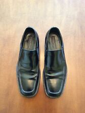Aston Grey (DSW brand) black mens leather slip on shoes 9.5M