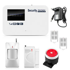 IOS Android Control Wireless GSM Home House Security Alarm System