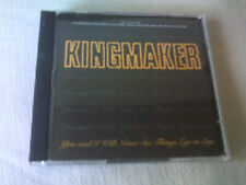 KINGMAKER - YOU AND I WILL NEVER SEE THINGS EYE TO EYE - CD SINGLE - PART 1