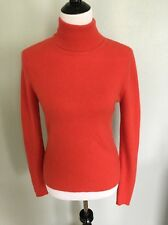 White And Warren 100% Cashmere Sweater Size Extra-Large Turtleneck