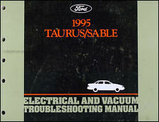 1995 Ford Taurus Mercury Sable Electrical Troubleshooting Manual Wiring Diagram