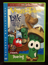 VeggieTales ~ LYLE THE KINDLY VIKING ~ A LESSON IN SHARING ~ AS NEW DVD