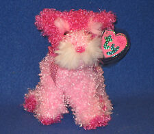 GLITTERS the DOG - TY PINKYS BEANIE BABY - MINT with MINT TAGS