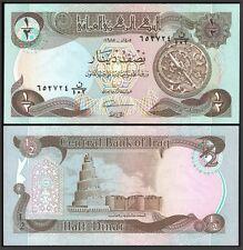 IRAQ 0.50 DINAR 1985 P 68 UNC OFFER !