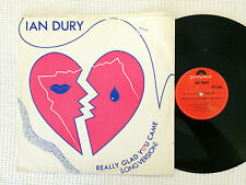 "IAN DURY REALLY GLAD YOU CAME 1983 UK PRESS 12"" SINGLE"