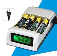 Charger C905W Smart Intelligent LCD For Battery AA / AAA NiCd NiMh Rechargeable