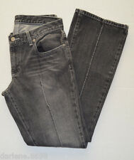 Womens Polo Gray Distressed Casual Pintuck Jeans Pants Size 6