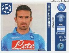 N°059 HUGO CAMPAGNARO # ARGENTINA SSC.NAPOLI STICKER CHAMPIONS LEAGUE 2012