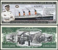 Lot of 500 BILLS - RMS Titanic Commemorative Million w Captain Edward John Smith