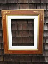 ANTIQUE AMERICAN VICTORIAN EASTLAKE PAINTING FRAME , INCISED GILT, FITS 24 X 21""