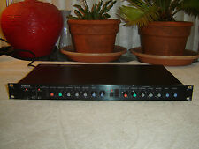 "Yamaha GC2020, 2 Ch Compressor Limiter, RCA & 1/4"" In/Out, Vintage Rack, As Is"
