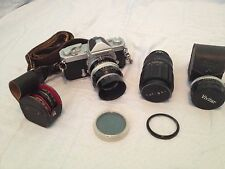Vintage Camera package - Nikkormat, 35mm, 52mm lens, f1.4