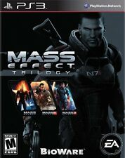 MASS EFFECT TRILOGY COLLECTION TEXTOS EN ESPAÑOL CASTELLANO PS3 NUEVO PRECINTADO