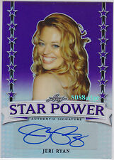 "2016 LEAF POP CENTURY STAR POWER AUTO: JERI RYAN #20/20 AUTOGRAPH ""STAR TREK""1/1"