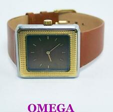 Ladies S/Steel & 14k OMEGA De VILLE Winding Watch 1970s Cal 620* SERVICED* EXLNT