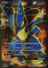 Pokemon TCG XY FURIOUS FISTS : Lucario EX Full Art 107-111 ULTRA RARE