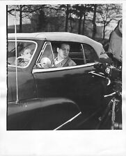 PAUL NEWMAN PIER ANGELI Original CANDID BOXING Photo SOMEBODY UP THERE LIKES ME