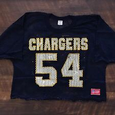 San Diego Chargers Vintage Billy Ray Smith Jr. Sand Knit NFL Football Jersey L