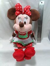 "2015 Hallmark Cookie Time Minnie Mouse 12"" Plush Dinsey"