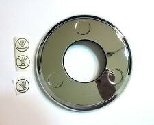 "Hansgrohe 98669001 5"" Axor Montreux Shower Cover Plate POLISHED CHROME NEW!"