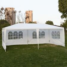 Outdoor 10'x20'Canopy Party Wedding Tent Gazebo Pavilion Cater Events 4 Sidewal