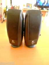 Logitech S-120 Computer Speakers, Set of Two, Wired, (Pre-owned)