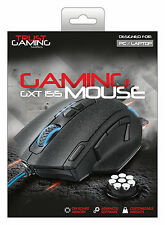 TRUST ELITE GAMING MOUSE GXT155, BUILT-IN CUSTOMISABLE WEIGHTS & ONBOARD MEMORY