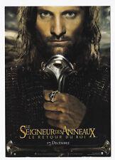 LE SEIGNEUR DES ANNEAUX carte postale n° C 1442 SONIS MORTENSEN LE RETOUR DU ROI