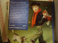 """The Ashton-Drake Galleries, Porcelain, """"Wrapped Up In Christmas""""Doll"""