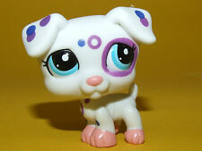P2) Littlest Pet Shop LPS - Dog Puppy Jack Russell Terrier Hund weiß #2306