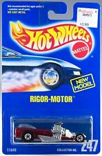 Hot Wheels No. 247 Rigor-Motor Red With Clear Window BW's MOC