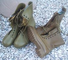 KHAKI TAN G.P. BOOTS - NEW PAIR EX-ARMY SURPLUS STOCK