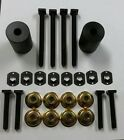 FORD FALCON XR XT XW XY GT HO GS BUCKET SEAT BOLT AND NUT KIT NOW WITH SPACERS