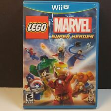 185570 LEGO: MARVEL SUPER HERO WII U REPLACEMENT CASE (NO GAME INCL.) MINT COND.