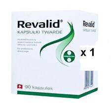REVALID 90 Caps HAIR LOSS TREATMENT and reconstruction nails For - FREE SHIPPING