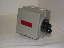 Motor Reversing Switch single or 3 phase 32amp 4 Pole Lathe car lift etc New!!!