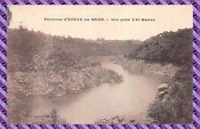Carte Postale - Environs d'evaux les bains - vue prise à St Marien