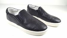 $200 size 40 Ash Impuls Black Genuine Leather Sneakers Slip On Womens shoes